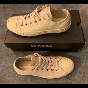 Unisex Converse Sand Dollar/Rose Gold Sneakers